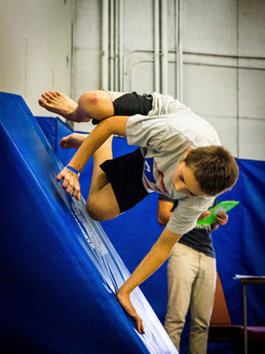 intermediate parkour classes
