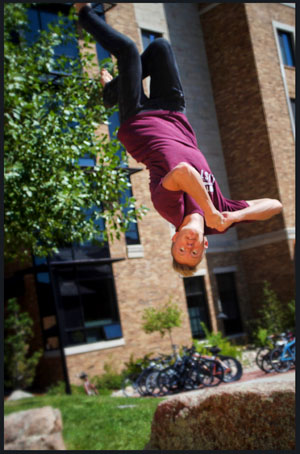 Parkour Coaches, Kyler Knuton