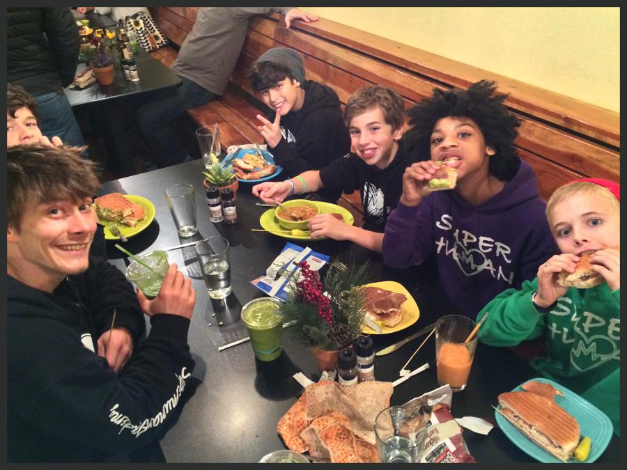 Boulder Parkour Competitions, Dinner