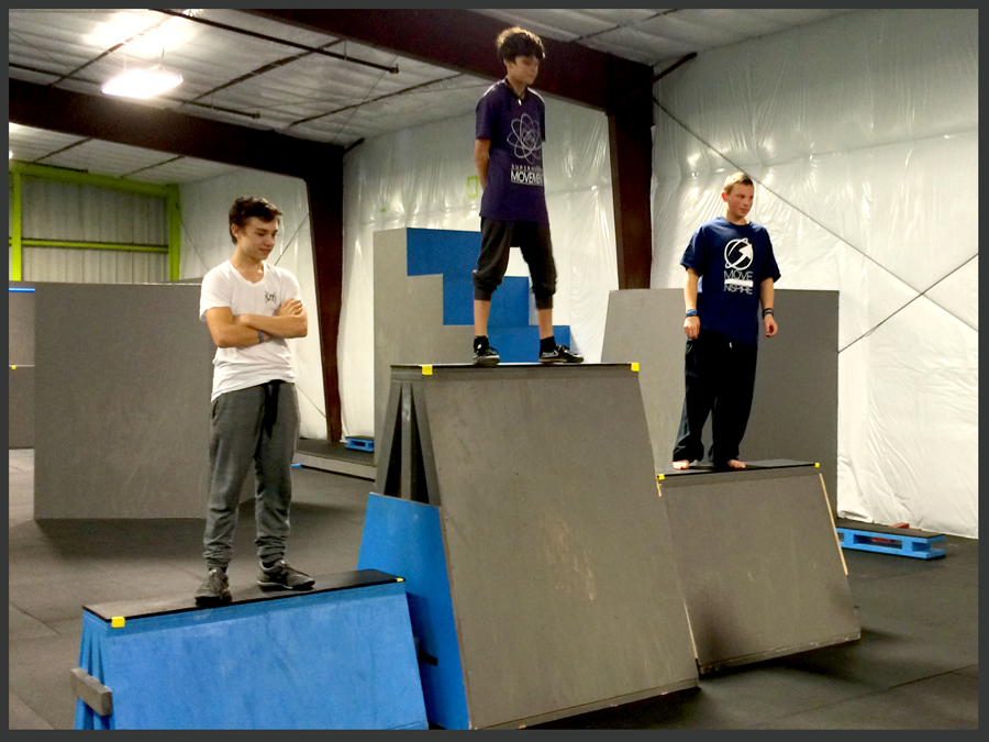 Boulder Parkour Competitions, Jake 1st Place