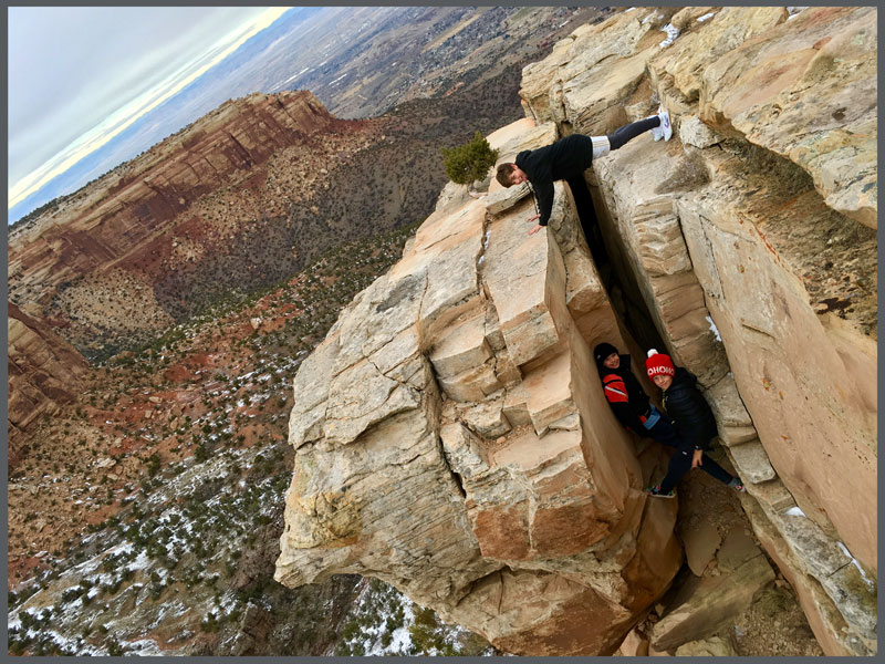 Team Superhuman, playing about Colorado National Monument