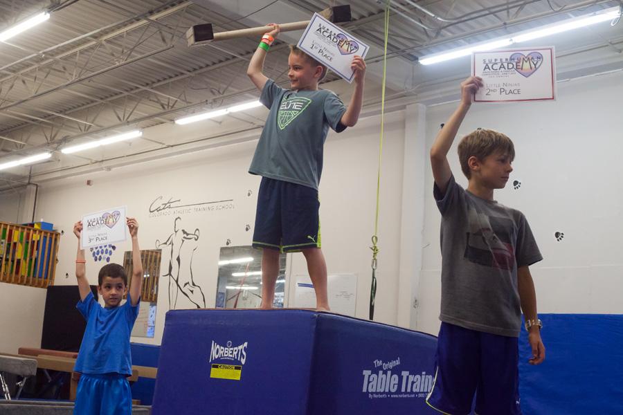 Boulder Parkour Competitions, Little Ninjas - Top 3