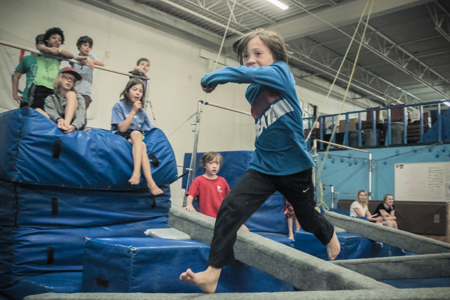 Boulder Parkour Competitions, Nichols